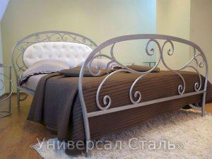 Кованая кровать №38