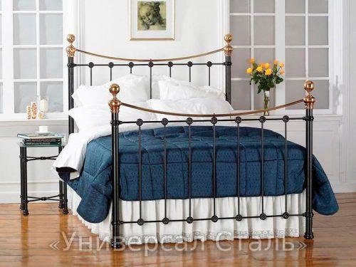 Кованая кровать №39 — фото