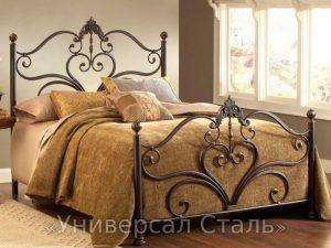 Кованая кровать №4