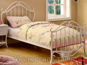 Кованая кровать №40 - фото 1