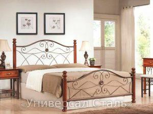 Кованая кровать №41