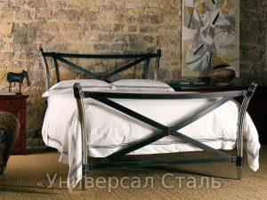 Кованая кровать №44 - фото 1