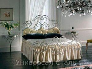 Кованая кровать №46