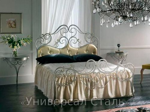 Кованая кровать №46 — фото