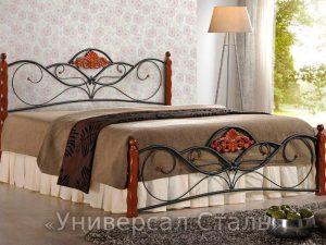 Кованая кровать №47 - фото 1