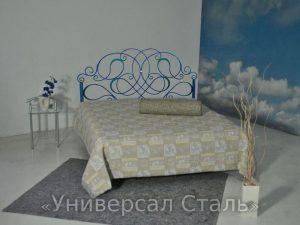 Кованая кровать №48 - фото 1