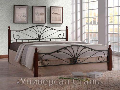Кованая кровать №49 — фото