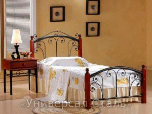 Кованая кровать №50