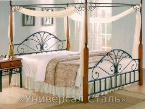 Кованая кровать №51