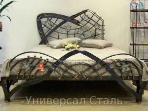 Кованая кровать №52