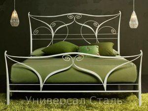 Кованая кровать №54