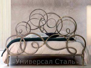 Кованая кровать №55
