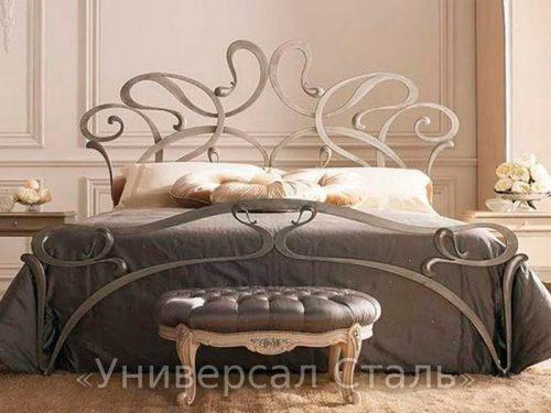 Кованая кровать №56 — фото