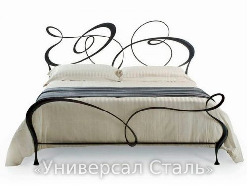Кованая кровать №57 — фото