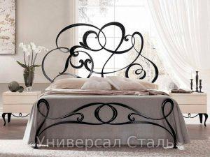 Кованая кровать №58