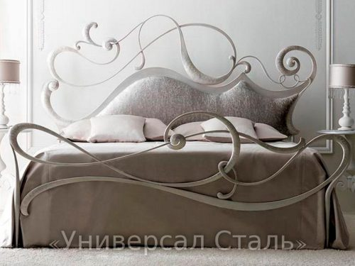 Кованая кровать №59 — фото