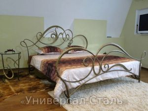 Кованая кровать №6 - фото 1
