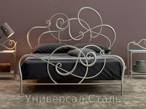 Кованая кровать №60 — фото