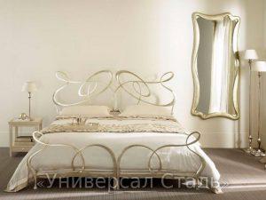 Кованая кровать №61