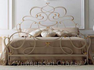 Кованая кровать №63
