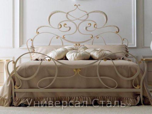 Кованая кровать №63 — фото
