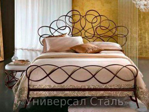 Кованая кровать №64 — фото