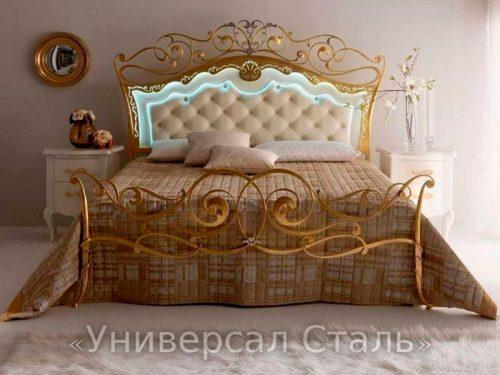 Кованая кровать №65 — фото