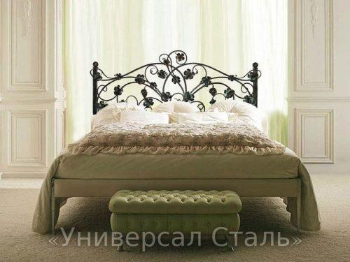 Кованая кровать №66 — фото