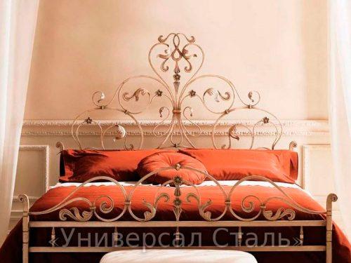 Кованая кровать №67 — фото
