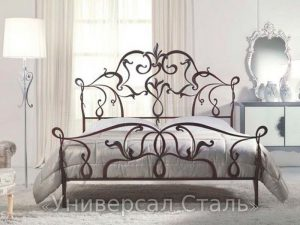 Кованая кровать №68