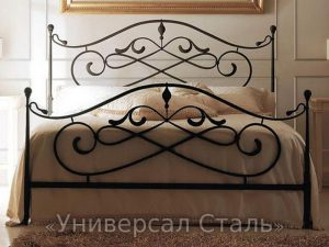 Кованая кровать №69