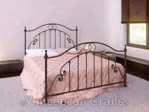 Кованая кровать №7 — фото