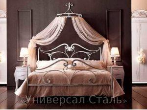 Кованая кровать №71