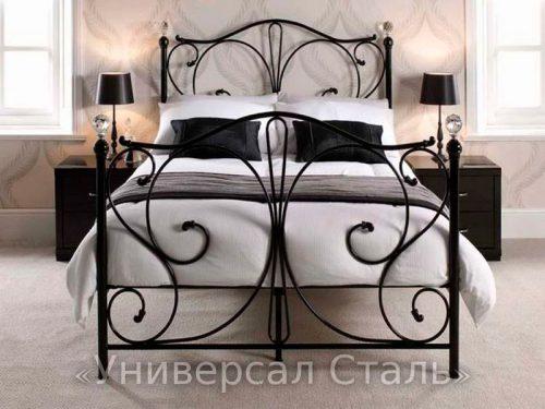 Кованая кровать №77 — фото