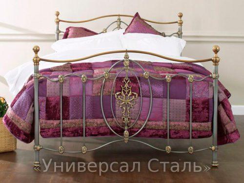 Кованая кровать №78 — фото