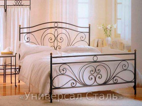 Кованая кровать №8 — фото