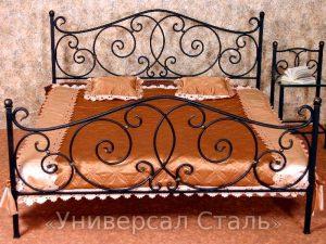 Кованая кровать №80