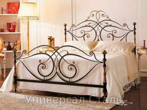 Кованая кровать №81