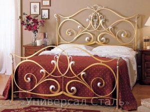 Кованая кровать №82
