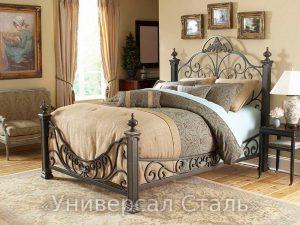 Кованая кровать №83