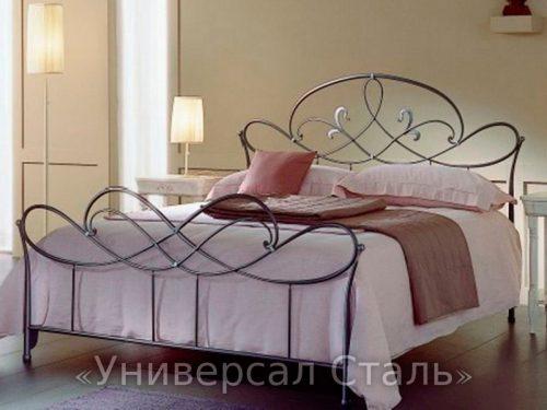 Кованая кровать №85 — фото
