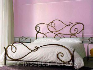 Кованая кровать №86