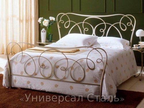 Кованая кровать №87 — фото
