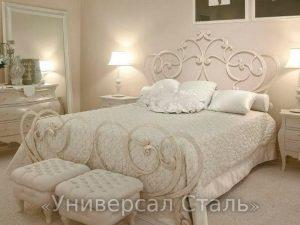 Кованая кровать №88
