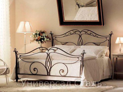 Кованая кровать №90 — фото