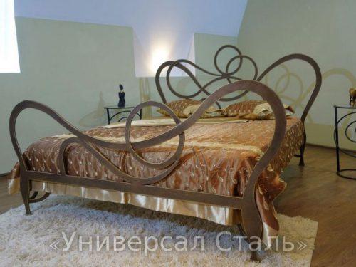 Кованая кровать №91 — фото