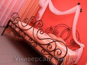 Кованая кровать №95