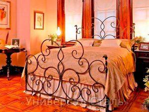 Кованая кровать №96