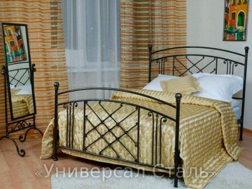 Кованая кровать №97 — фото