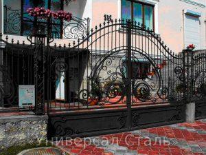 Кованые ворота №116